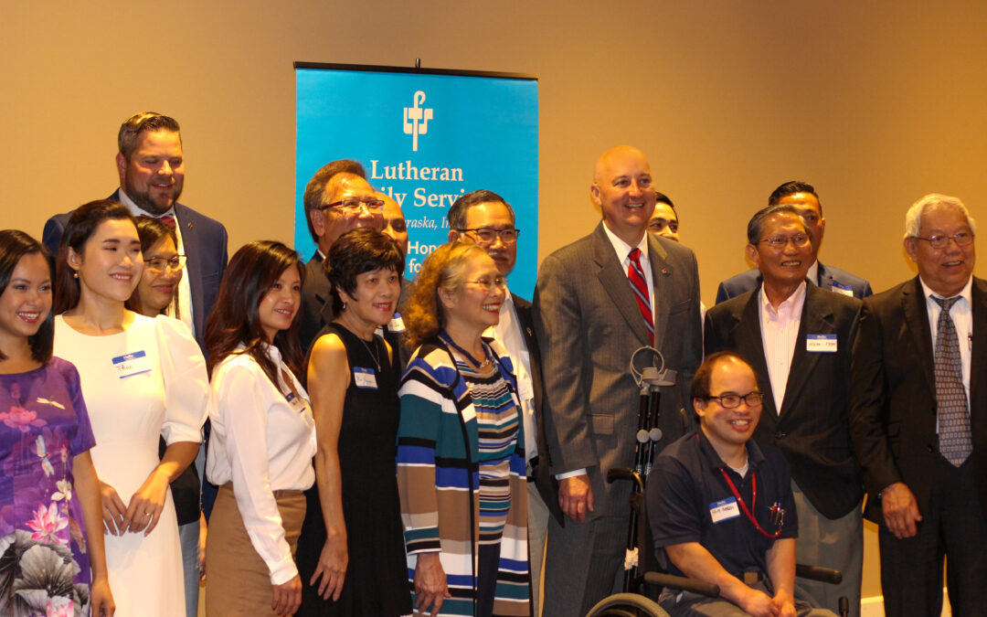 Gov. Ricketts Meets with Nebraska's Vietnamese Community Ahead of Trade Mission